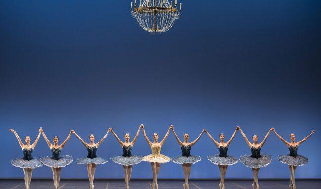 George Balanchine Tema e variazioni foto di Benedetta Folena