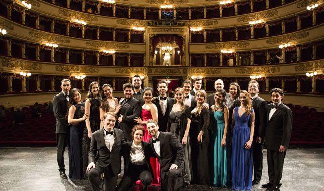 Allievi Accademia di perfezionamento per cantanti lirici del Teatro alla Scala foto di Rudy Amisano Teatro alla Scala