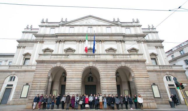 il Teatro alla Scala con gli allievi del Master in PAM