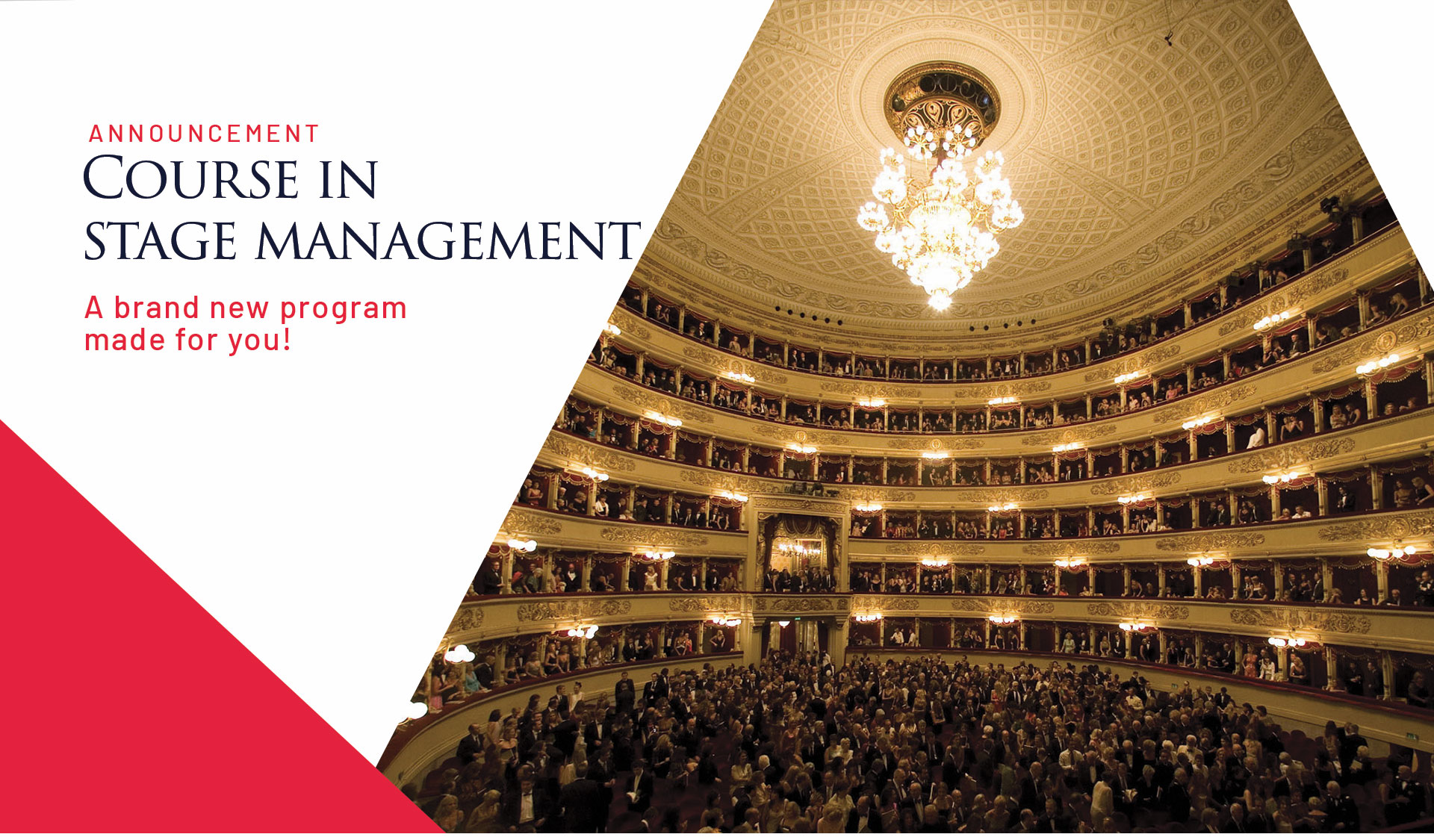 course in stage management