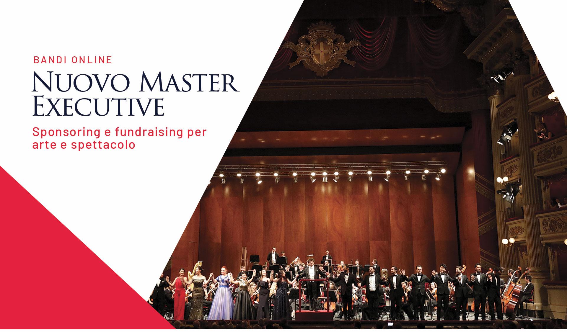 nuovo bando per master executive in fundraising per arte e spettacolo